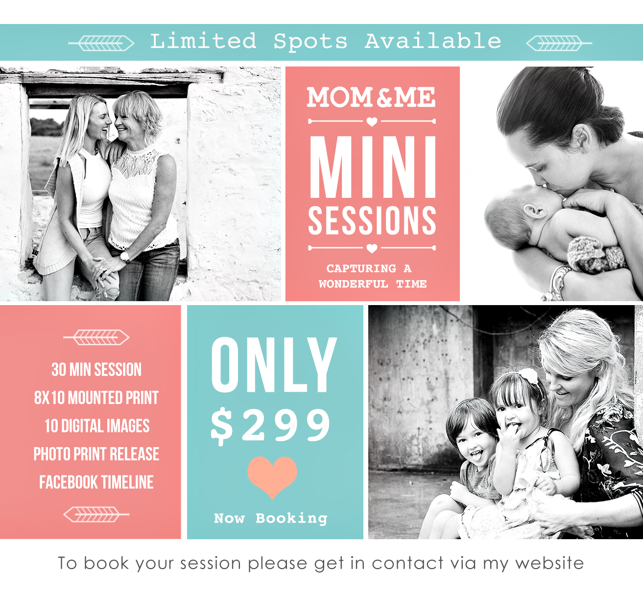 Mothers Day 2016 Mini Session Package
